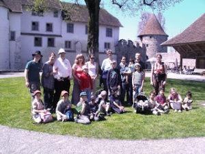 Homeschool-Ausflug, Schloss Hallwyl, Homeschool News, Bernice und Jan Zieba