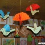 Basteln mit Papier: Papiervögel