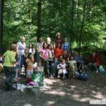 Homeschool-Ausflug am Kinderweg Benzenschwil