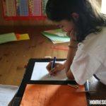 Schreiben, schreiben: Unsere Teilnehme am Schreibwettbewerb