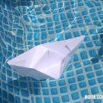 Basteln mit Papier: Papierboote