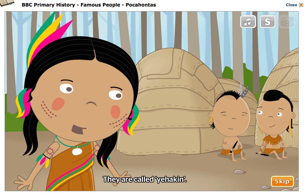 Pocahontas, pwhatan, Homeschool Blog, Jan und Bernice Zieba