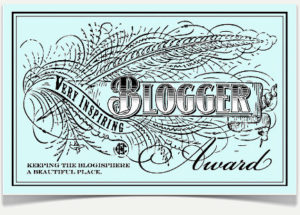 Inspiring Blogger Award, Homeschool News, Bernice Zieba, Jan Zieba