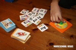 Lesen und Schreiben lernen mit dem Spiel Wort für Wort