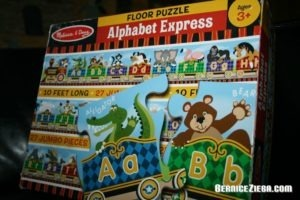Alphabet Express, Floor Puzzle