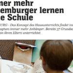 Luxemburg: Immer mehr lernen ohne Schule
