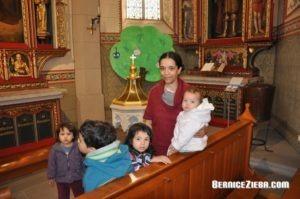 Bernice Zieba mit 4 Kinder