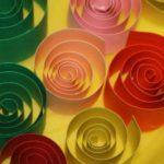 Homeschool-Treffen: Mit Papier basteln