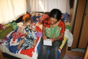 England, Caravanschooling, Jan und Bernice Zieba
