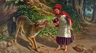 Rotkäppchen, Little Red Riding Hood