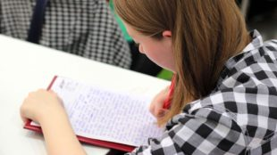 A Girl learning, Homeschool Blog and News, Bernice Zieba