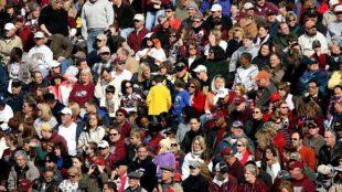 Crowd of People, Menschenauflauf