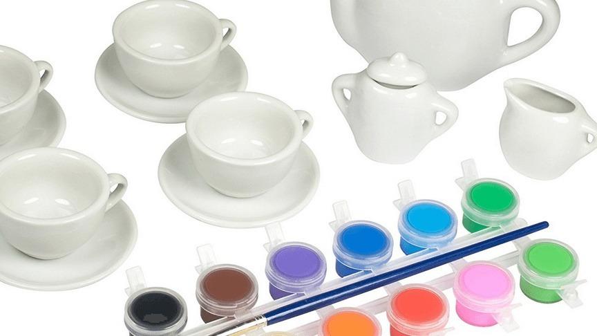 Paint-a-Tea-Set
