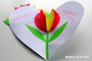 Muttertagskarte, Mother's Day Card