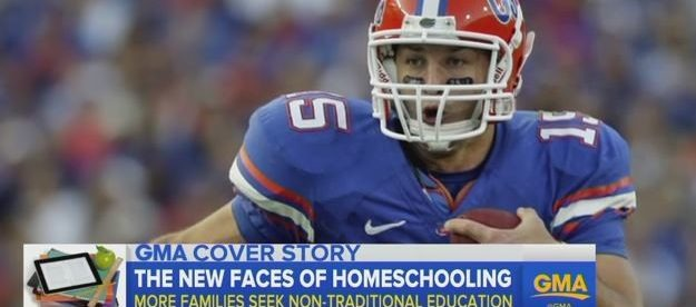 Tim Tebow, Homeschool Video