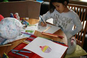 Ausmalen, Colour in, Bernice Zieba, Homeschool Blog