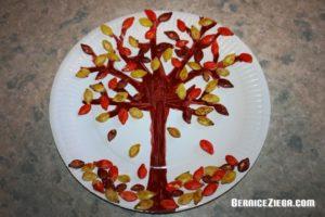 Kürbiskernen-Baum, Pumpkin Seed Tree, Bernice Zieba
