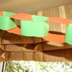Herbstliche Papierkette / Autumn Paper Chain